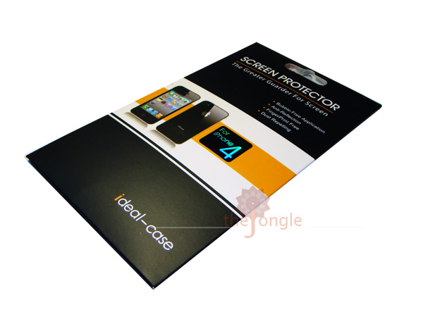 Celcom iPhone 4 White Screen Protector