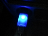 Momax Super Car Charger Blue LED Light