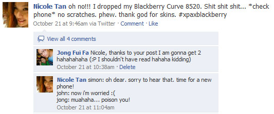 Blackberry Curve Nicole Tan