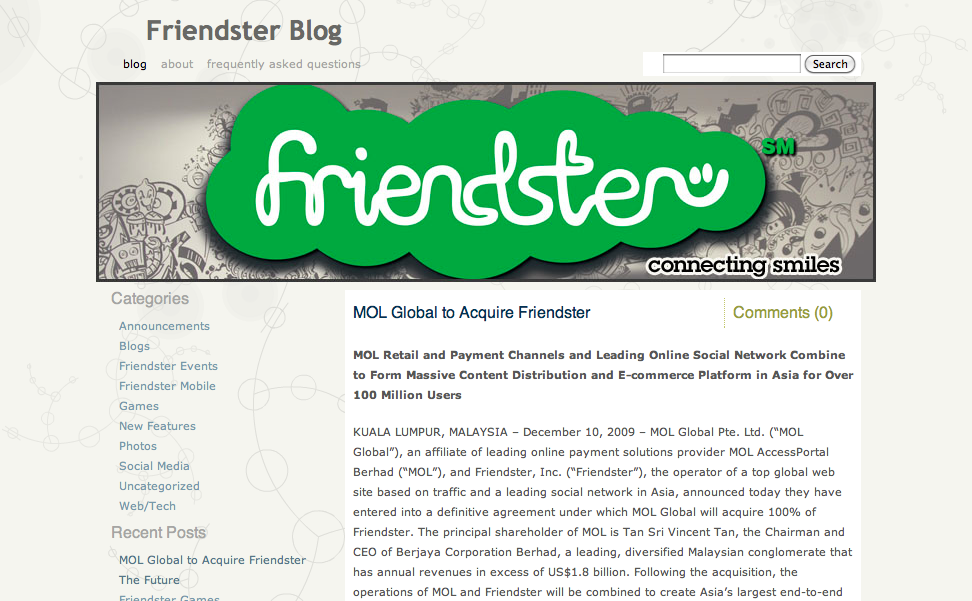 Friendster