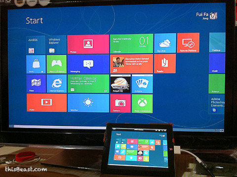 Windows 8 on iPad2