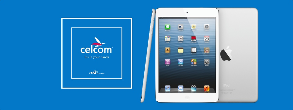 Celcom iPad Mini