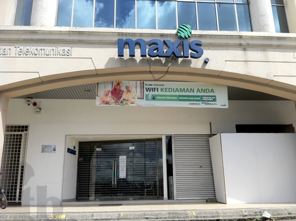 Maxis Centre Close on Sunday