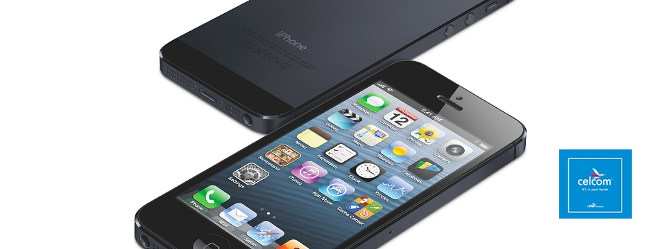 featured Celcom iPhone 5 plans